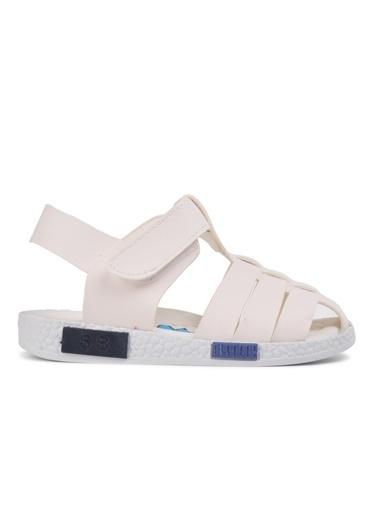 Şiringenç 210111 Lacivert-Kot-Beyaz Comfort Erkek Çocuk Sandalet Beyaz